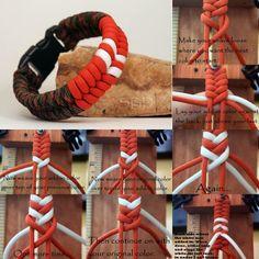 Bobby Stacys' tut for adding colors to Fishtail Bracelet
