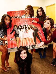 Fifth Harmony promoting their EP!