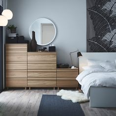 Step up your bedroom storage game with OPPLAND.