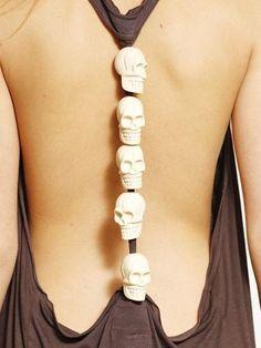 Skull Beads Dress