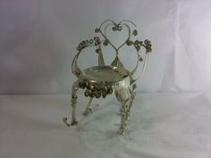 FREE SHIPPING Tin Can Chair Tramp Art by DannahsDiggs on Etsy, $17.95