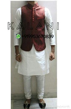 Designer Kurta Pyjama with Waist Coat Special Eid Collection Waist Coat Jacket is in Maroon Red Brocade Kurta is with a Chudidar Pyjama Sizes : 34 , 36, 38, 40, 42 , 44 , 46, 48 Price : Rs3800 , 60$  Worldwide Shipping Available in 3 - 5 Days through Fedex and Dhl WhatsApp : +919953670839  #kurtapyjama #specialeidramzaancollection #eid #ramzaan #allah #designs #kurtaset #waistcoat #nehrujacket #mencouture #designingworld #indiandresses #couture #ethnicdesigns #collection #indian