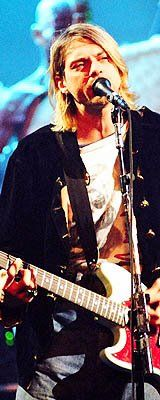 Kurt Cobain from MTV's Live and Loud