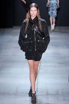 ☆ Bette Franke   Alexander Wang   Spring/Summer 2011 ☆ #Bette_Franke #Alexander_Wang #Spring_Summer_2011 #Catwalk #Model #Fashion #Fashion_Show #Runway #Collection