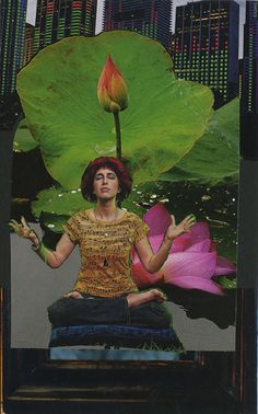 meditator me soulcollage® card
