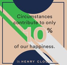 Circumstances are not Predictive of Happiness