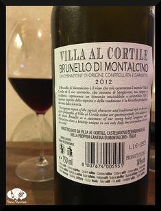 2012 Villa al Cortile Brunello di Montalcino, Tuscany, Italy - Social Vignerons
