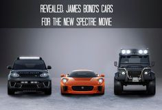 Are you watching the NEW James Bond movie? You might want to check out these vehicles featuring in the movie...
