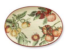 Botanical Tomato Platter #williamssonoma