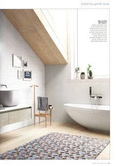 Bring a designer feel to your bathroom with sleek furniture from  Alternative Bathrooms  Essential Kitchen Bathroom Bedroom December 2016The incredible Inipi B dry sauna  by Duravit is also available  . Essential Kitchen And Bathroom Business Magazine. Home Design Ideas