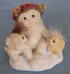 dreamsicles | Details about DREAMSICLES CHERUB FIGURINE LET'S GET TOGETHER DOG CAT