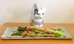 Maki d'asperge au bacon #cuisine #japon #cuisinejaponaise