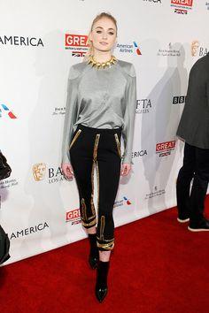Sophie Turner #afterparty #redcarpet #GoldenGlobes #2017