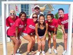 """I Googled """"Thuy Diep Cheer"""" And My Habitat Trip In Alabama Popped Up From Last Summer! Me With Some Of The University Of Alabama Cheerleaders - Cheer for a Cause"""