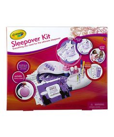 Sleepover Creative Kit by Crayola #zulily #zulilyfinds
