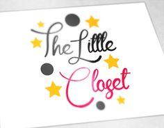 "Logo for ""The Little Closet"" Portfolio Logo, Working On Myself, New Work, Logo Design, Behance, Logos, Gallery, Check, Cards"