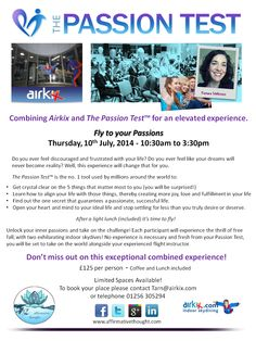 Fly to Your Passions - Basingstoke, 10th July