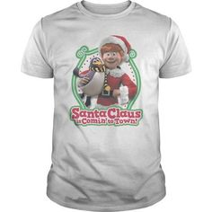 Santa Claus Is Comin To Town Penguin T Shirts, Hoodie