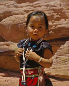 Navajo Girl from Canyon de Chelly