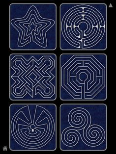 Finger labyrinth -I