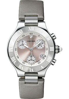 Cartier 21 36mm - Chronoscaph Watch W1020012