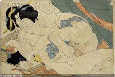Hokusai Katsushika, From the album Fukujuso, Shunga