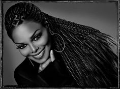 Janet Jackson by Marco Glaviano