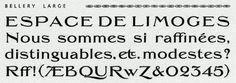 Jean-Baptiste Levée | Création de typographies: Specimen de caractères de l'atelier de la Cerisaie