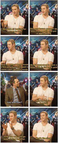 Lol yup, me and tom