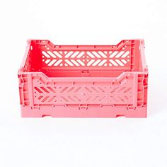 AY-KASA Collapsible Storage Bin Container Basket Tote, Folding Basket Crate Container : Storage, Kitchen, Houseware U... Cube Storage, Storage Chest, Collapsible Storage Bins, Mens Diamond Wedding Bands, Closet Rod, Closet System, Toy Chest, Crates