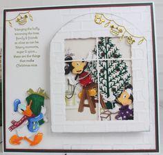 Upcoming Festivals, Disney Cards, Create And Craft, Disney Scrapbook, Hobbies And Crafts, Anniversary Cards, Christmas Ideas, Christmas Cards, Cricut