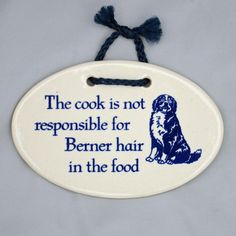 Berner Hair In The Food Plaque