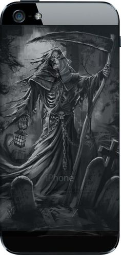 """Grim Reaper Holding Lantern Fashion T-shirt"" Limited Edition's. Not available in stores. Grim Reaper Art, Grim Reaper Tattoo, Don't Fear The Reaper, Dark Fantasy Art, Dark Art, Grim Reaper Pictures, Pet Anime, Skull Pictures, Gothic Fantasy Art"