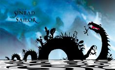 """""""The Tale of Sinbad the Sailor"""" by Jan Pienkowski (Google Search)"""