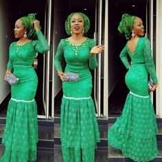 african ladies engagement attire - Google Search