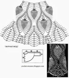 Crochet+-Bolero-Pattern-Women's-Lace+Bolero+7+(4).jpg 1,075×1,222 píxeles