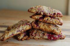 Raspberry Oatmeal Scone