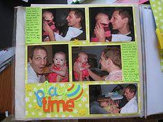 fun scrapbook page