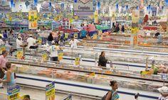 Procura por congelados e industrializados cresce Foto: Bianca Pimenta / Agência O Globo