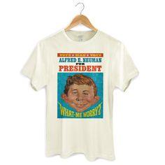 Camiseta Masculina Vote MAD #MAD #madmagazine #altredneuman