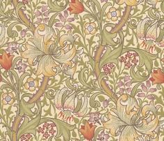 Buy William Morris and Co 210399 Golden Lily Wallpaper | Archive Wallpapers | Fashion Interiors