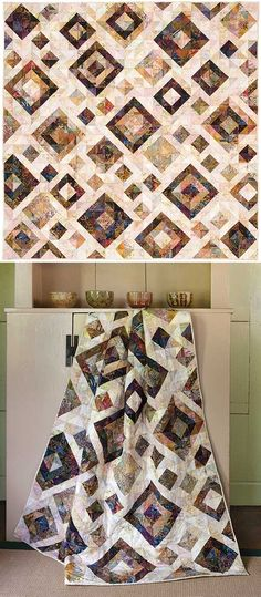 Cardamom Cream quilt pattern from Keepsake Quilting
