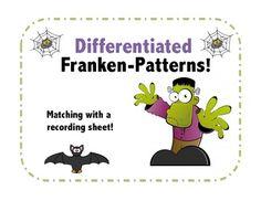 Franken-Pattern:Differentiated Number Pattern!
