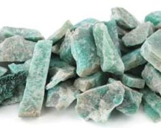 1lb. Amazonite Raw Stones by DragonsDreamSupplies on Etsy