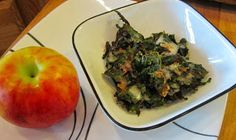 Apple pie kale chips Day 30 of the paleo autoimmune protocol (AIP) is coming up in just two days. Meat Recipes For Dinner, Chef Recipes, Asian Recipes, Ethnic Recipes, Dehydrator Recipes, Food Processor Recipes, Fructose Free, Apple Chips, Cooked Apples