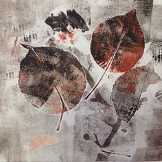 was born in Tacloban City, Philippines; currently lives in the Hudson Valley, NY) Nature Prints, Art Prints, Gelli Plate Printing, Collagraph, Whimsical Art, Art Projects, School Projects, Flower Art, Printmaking