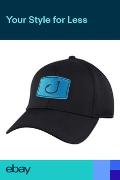 AVID Iconic Fitted Performance Fishing Hat 0994dfa50bc2