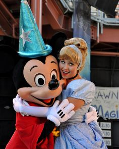 Mickey & Cinderella