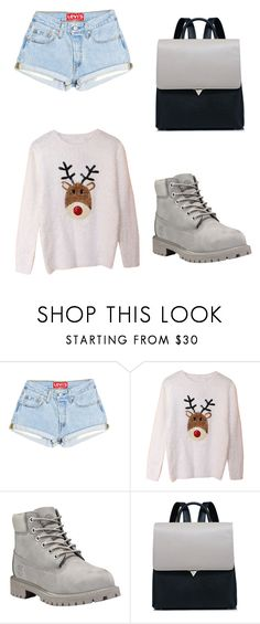 """Untitled #582"" by tumblr-outfits12 on Polyvore featuring Timberland"