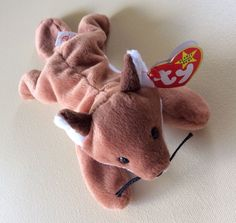 TY BEANIE BABIES Fox SLY Stuffed Animals Collectible Toys School Gift Home Decor…